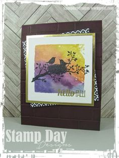 CARD – Hello Fall! | Stamp Day Designs