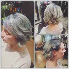 Gray hair halo salon buffalo