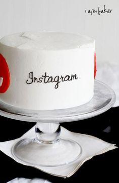 Social Media Surprise Inside Cake!