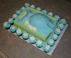 Maternity Cakes - Pregnant Belly Baking for Your Next Baby Shower (GALLERY)