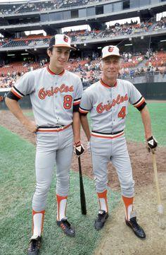 Cal Ripken Jr. & Cal Ripken Sr. - Baltimore Orioles