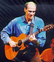 James Taylor - one of my all-time favorite singer-songwriters! His music gives me peace, joy and relaxation. I love hearing his stories, too.m