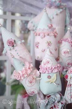 decoration in floral gorschok
