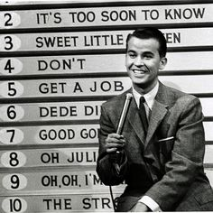 Saturdays American Bandstand top 10.