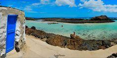 El Puertito (Isla de Lobos) Paradise On Earth, Canario, Canary Islands, Don't Worry, Holidays, Water, Happy, Travel, Outdoor