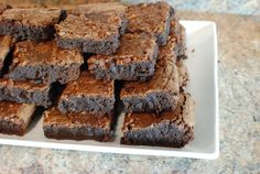 Bacon Bourbon Brownies - The Food in my Beard