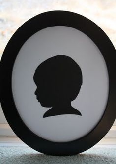 Easy Silhouette instructions - I so need to do this for the kids.  I think they are so pretty!