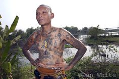 From the book 'Sacred #Tattoos Of #Thailand', photos by travel photographer Dan White, who died unexpectedly in September 2012