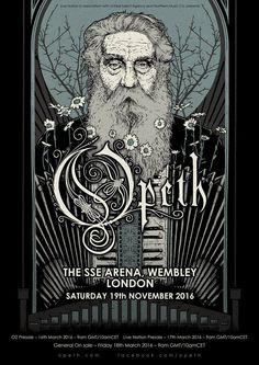 Opeth Wembley Arena