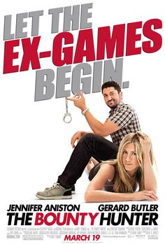 The Bounty Hunter has a great cast. Gerard Butler and Jennifer Aniston are great together, and Jason Sudeikis knows just how to complicate situations.