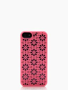 perforated flowers iphone 5 case - kate spade new york - $40