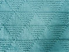 """hatandsandalsguy: """" podkins: """" Lovely stitch! How to knit the Stockinette and Garter Triangles """" Triforce Stitch!!! """""""