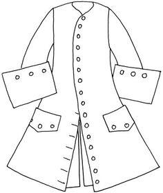 giacca marsina (prima metà del secolo XVIII)