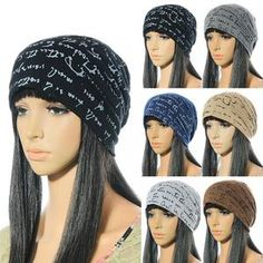 117858d0756 Fashion Winter Autumn Warm Unisex Cotton Knitted Hat Caps Letters Prin –   youwishgift