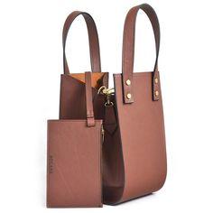 Geanta Bocane Phoenix de Piele, Castana - Bocane Michael Kors Hamilton, Italian Leather, Hand Bags, Phoenix, Leather Bag, Handbags, Purse, Women's Handbags, Purses