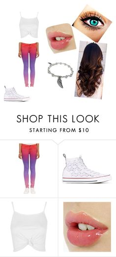 """""""#RandomOutfitsButCute"""" by ethan-s-queen on Polyvore featuring J Brand, Converse, Topshop and Jacy & Jools"""