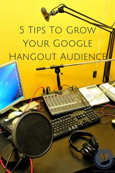 How To Grow Your Google Hangout Audience with at Wade Harman. If you happen to be going to Social Media Marketing World, you can catch @blogger32. He'll be attending.