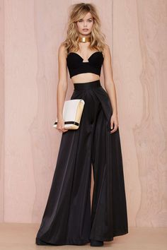 Solace London Stellis Wide-Leg Trouser - Nasty Gal