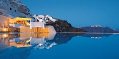 Infinity Pool at Mystique, A Luxury Collection Hotel, Santorini