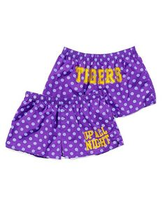 Cute LSU Boxer shorts