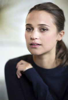 Watch out, world, here's your Star of Tomorrow coming at you today, Alicia Vikander of Sweden.