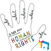 5Ws for human rights!