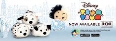 101 Dalmation Tsum Tsum now available!