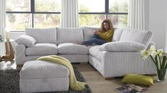 Delta Fabric Sofa Range | Sofology
