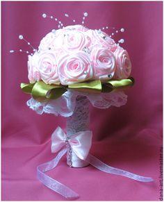 букет из атласных лент для невесты - Поиск в Google