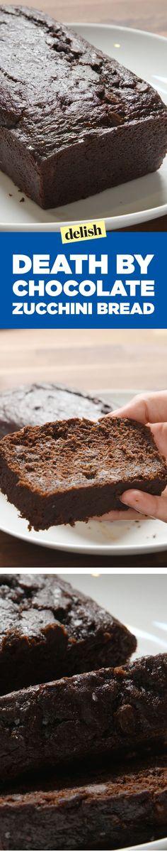 Death by Chocolate Zucchini BreadDelish