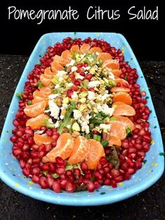 Threpsis superfood pomegranate citrus salad