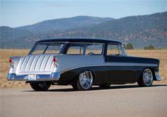 1956 CHEVROLET NOMAD CUSTOM WAGON - Barrett-Jackson Auction Company - World's Greatest Collector Car Auctions
