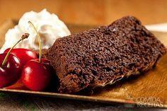 Receita de Bolo de café, chocolate e feijão preto em receitas de bolos, veja essa e outras receitas aqui!