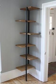 Habitat Corner Shelving Unit / Bookcase | eBay