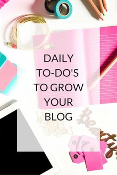 Daily Things To Grow Your Blog http://www.kairenvarker.co.uk/daily-things-grow-blog/