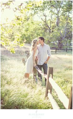 Engagement session in Sycamore Grove Park, Livermore.