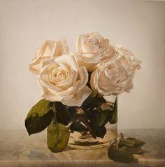 Antique Roses  -  Vadim Klevenskiy  - oil on canvas