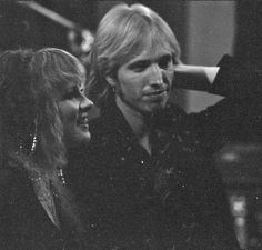 Stevie Nicks with Tom Petty (photo courtesy of Rosemary Cantali, photographed by HWIII)