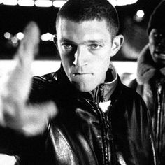 "French actor Vincent Cassel in one of his first films, ""La Haine,"" 1995 Vincent Cassel, Tony Stark, La Haine Film, Gq, Movie Captions, Terence Stamp, Top Film, Punch In The Face, Movie Shots"