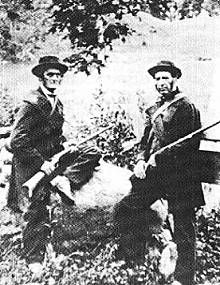 Battle of Eccles Hill, 25 May, 1870. The Fenians were Irish Nationalists, many of them US civil war veterans, who planned to invade Canada from the US in an attempt to force Britain to restore Irish sovereignty.  At Eccles Hill in Montreal, 600 Fenians clashed with Canadian Militia.  A double agent betrayed the Fenians, who were repulsed. The Canadians were commanded by Lt. Col William Smith, who would later become the first commandant of the Northwest Mounted Police.