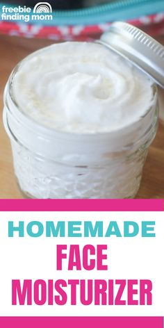 Does your skin need a hearty dose of hydration? This easy 3-step Homemade Face Moisturizer recipe is incredibly moisturizing and without any harmful ingredients. The powerful combination of coconut oil and cocoa butter will provide your skin with the hydration it needs and for much less than store bought products. Whether you have dry skin, oily skin, or combination skin, give this DIY face moisturizer a try! Homemade Beauty Recipes, Homemade Beauty Products, Beauty Care, Diy Beauty, Beauty Hacks, Homemade Face Moisturizer, Natural Beauty Tips, Skin Food, Combination Skin