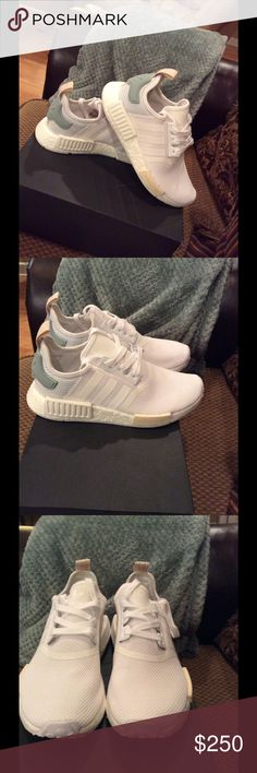 44c69e8627c90 Brand new adidas Nmd White tactile green adidas Nmd. Brand new never worn!