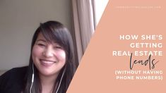 How She's Getting Real Estate Leads (Without Having Phone Numbers) Real Estate Business, Real Estate Marketing, Lead Generation, Building A Personal Brand, Get Real, Free Facebook, Real Estate Leads, Free Training, Personal Branding