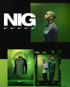 Nigeria Football Federation - Nike Campaign on Behance Sports Marketing, E-mail Marketing, Sports Graphic Design, Graphic Design Typography, Sport Design, Parions Sport, Nike Campaign, Clothing Packaging, Photoshop Design