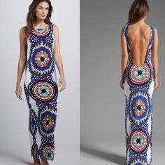 Fashion sexy Printed dress