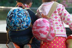 Helmet shape backpack - SF026
