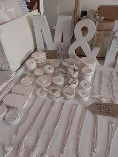 adorable little clay gift tags- use salt dough? 1 c salt, 2 c flour, 1 cup warm water