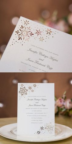innovative winter wedding invitations/ lace wedding invitations/ winter wedding invitations/ cheap wedding invitations