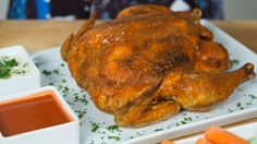 Say It With Us: WHOLE Buffalo Chicken: Do you need to spice up your go-to roast chicken recipe, literally?!