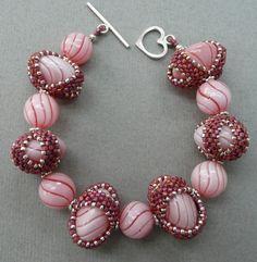 Absolutely Beads 2007 Constance J. Mitro - Pink Lemon Twist Bellevue, WA